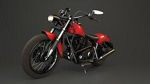3D moto vehicle model