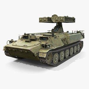 3D 9K35 Strela-10 or SA-13 Gopher model
