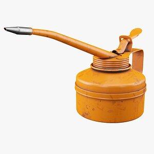 3D oil contain model