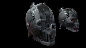 3D vampire helmet helm