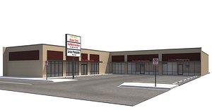 store mall retailer 3D