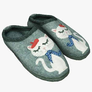 3D slippers shoes