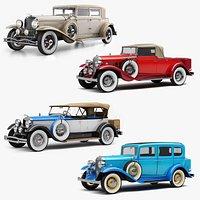 Retro Cars Collection