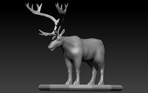 Caribou Stl 3D model