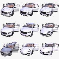 Generic SUV 9-models mega pack