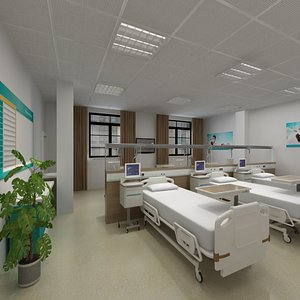 wardroom 6 3D model