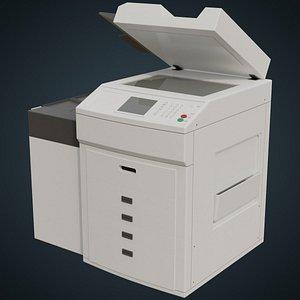 photocopier 1a 3D model