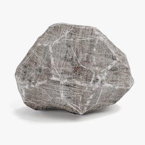 rock stone landscape model
