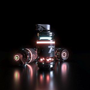 3D scifi sci fi