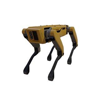 3D robot boston dynamics model