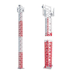 3D cell tower model