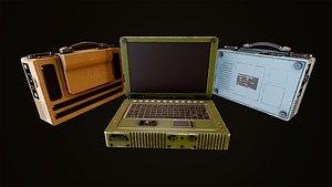 3D military laptop
