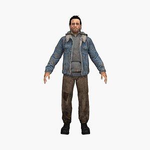poor mark 3D model