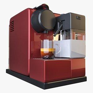 espresso pod coffee machine 3D model