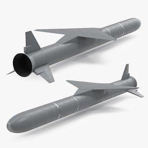 3D Air Launched Rocket