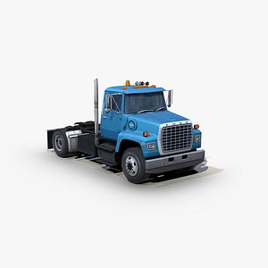 3D l8000 semi truck