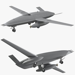 refueling drone aerial 3D