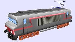 electric locomotive bb 22200 3D