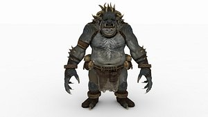 3D Demonio tipo Samurai model