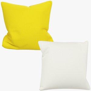 Sofa Pillows Collection V8 3D model