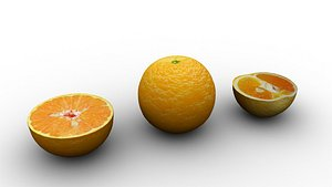 3D fruit food