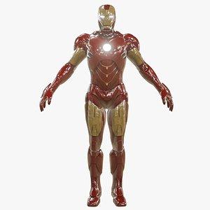ironman marvel 3D