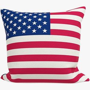 Sofa Pillow V38 3D model