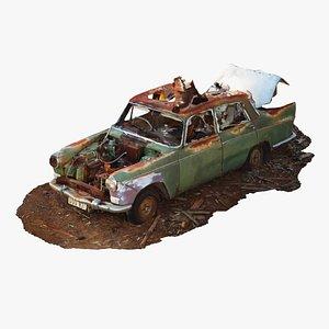 car old junk 3D model