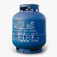 Gas Cylinder GameReady LODs