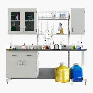 Big Lab Workbench model