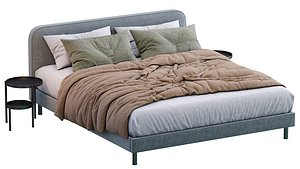 Besley Bed By Made 3D