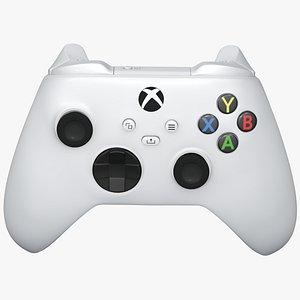 xbox series joystick 3D model