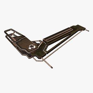 3D model Wing Frame G