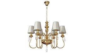 3D Hanging chandelier Meki 4723-6