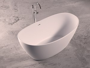 3D bathtub faucet