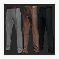 pants Marvelous Designer Video and game ready File