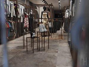 clothes shop 3D