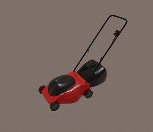 3D lawnmower tool model