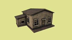 western house 02 - 3D model