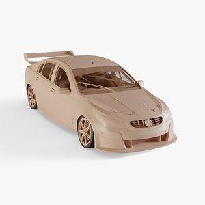 3D 2013 Holden Commodore V8 Supercar model