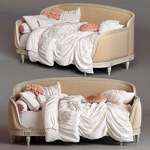 bed restoration belle upholstered model