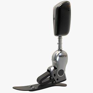 3D bionic foot
