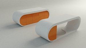 3D Goggle desk