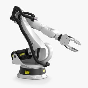 robotic arm industrial model