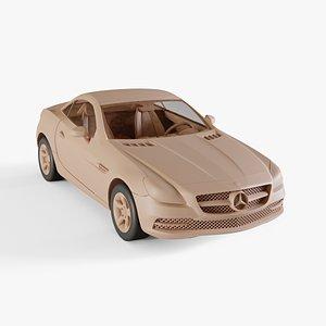 3D model 2012 Mercedes-Benz SLK