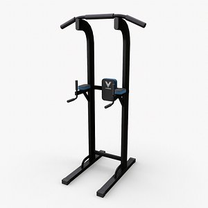 3D PBR Chin Up Pull Dip Power Tower