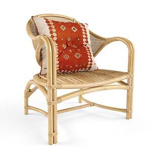 3D Avery Koko Occasional Chair model