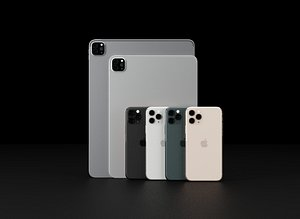 apple ipad pro 2020 3D model