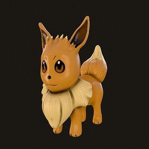 3D pokemon toy