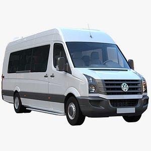 crafter minibus passenger 3D